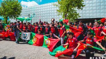 Giants Portuguese Crowd