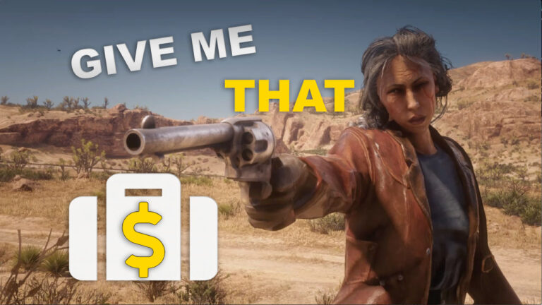 Read Dead Online: Give me that money